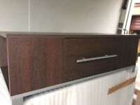 LOVELY TV STAND WITH DRAW VERY HIGH QUALITY HARDLY USED 94X48X31CM