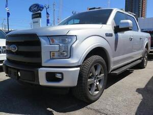 2015 Ford F-150 Lariat Leather,Sunroof,Navigation,Blind Spot,AWD