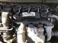 Ford Focus / c max 1.6 tdci engine complete