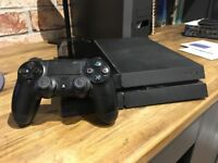PS4 (upgraded with Seagate 2TB HD) and controller