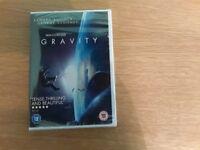 Gravity DVD, brand new, sealed