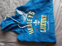 Henley's hoodie