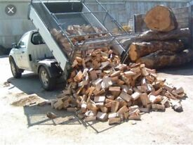 Barn stored logs £60 large truck load 🔥(dry logs)