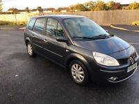 2008 RENAULT GRAND SCENIC 2.0 DIESEL DCI 6 SPEED LONG MOT ONE LADY OWNER FROM NEW NOT ESPACE ZAFIRA