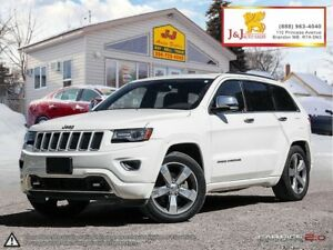 2014 Jeep Grand Cherokee Overland C.Start ,Leather,Suroof