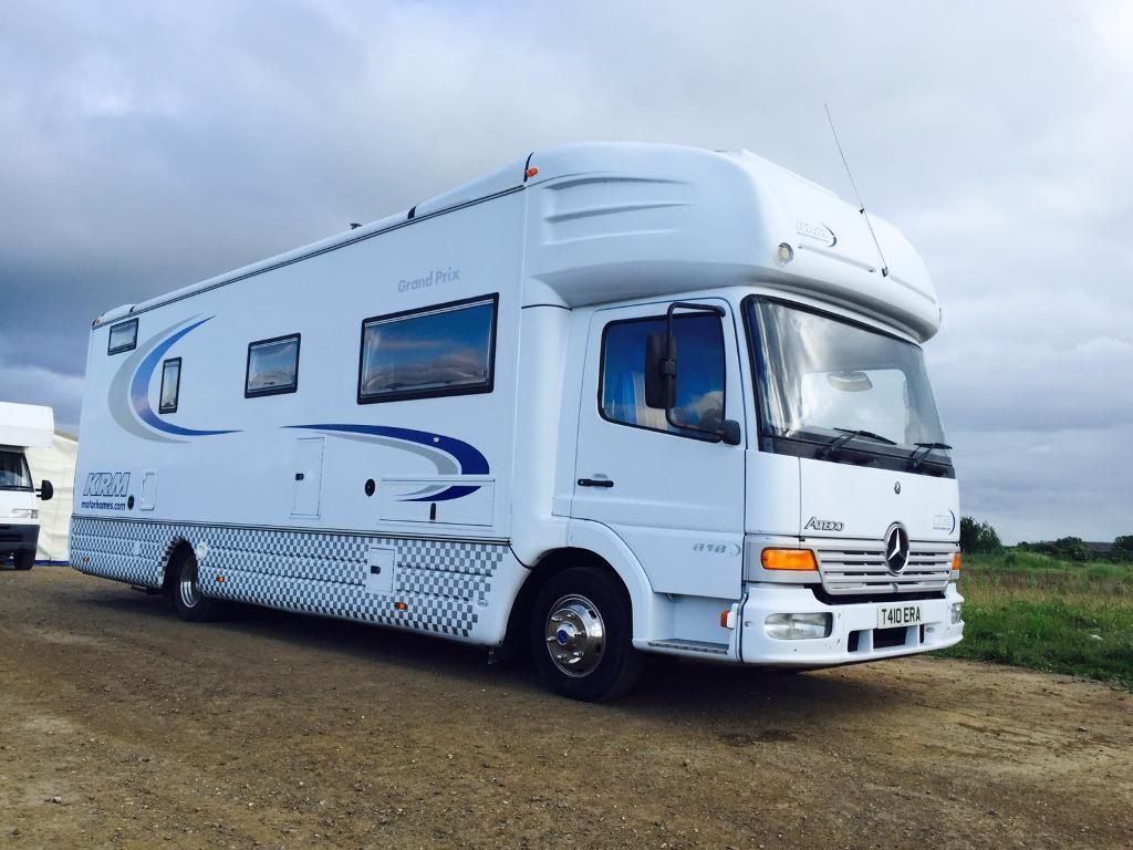 Campervans For Sale >> KRM Motorhome Race Truck Motorhome camper campervan motocross | in Bognor Regis, West Sussex ...