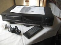 TECHNICS CD PLAYER - SL-P477A, including REMOTE CONTROL and INSTRUCTIONS