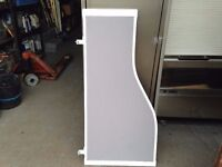 OFFICE DESK DIVIDER / PRIVACY SCREEN 1200MM WIDE
