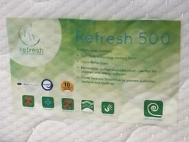 Single bed with memory foam mattress!