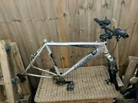 Mountain Bike Frame and Accessories