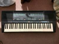 Yamaha PSR-500 digital synthesiser/keyboard