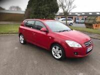 2008 Kia ceed 1.6 crdi 5 door 12 months mot/3 months parts and labour warranty