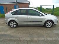 2006 ford focus 1.8 tdci zetec t diesel silver 5 dr 108k v clean full mot