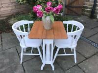 Dining Table 2 Chairs Small Set Seater