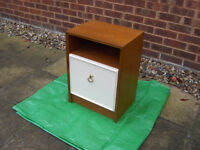 Bedside Cabinet / Table With shelf and door #FREE LOCAL DELIVERY#