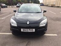 2012 Renault Megane Hatchback 5-DoorDynamique Tom Tom 5dr VERY LOW MILEAGE