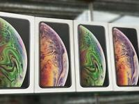 UNLOCK 64GB AND 256GB AND 512GB BRAND NEW BOXED XS MAX AND APPLE WARRANTY