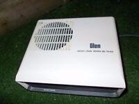 Glen mini 2000 series hot/cold air fan heater