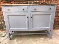Antique Solid Oak upcycled Sideboard