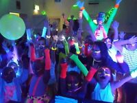 Childrens party disco entertainers, face painters, uv/laser disco, 5 star reviews, best parties,