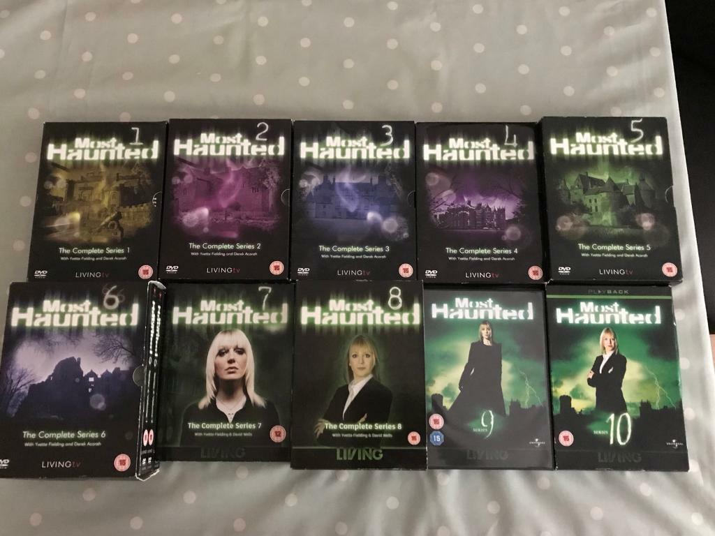 Most Haunted Complete Series 1-10.