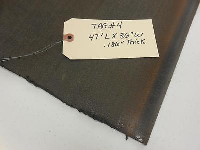 Unknown Brand Conveyor Belt Black Epdm 47 X 36