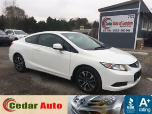 2013 Honda Civic Coupe EX - Moonroof - Free Winter Tire Package