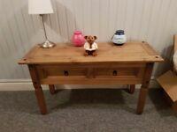 Wood sideboard