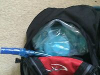 Brand New Compact slimline rucksack hydration pack with Water storage and sealed drinking pipe bike