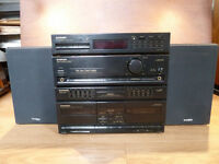 Pioneer DC-Z73 Amplifier + Sony SS-H3500 Speakers + Sony PS-LX56 Turntable - ALL Working