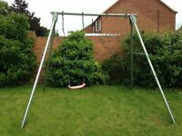Tp Giant double swing frame and swing.