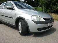 VAUXHALL CORSA SXI 16V, ONE LADY OWNER FROM NEW, ONLY 41,000 MILES, FULL HISTORY WITH MOT TO 2017.