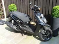 YAMAHA BW125CC MOPED. LOW MILEAGE FULL SERVICE HISTORY