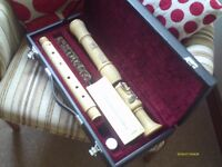 "Hohner Wooden Tenor Recorder in ""AS New"" Condition, Never Used, complete in good quality box"