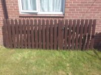 Garden driveway gate/ fence