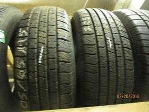 205/65R15 2 ONLY USED MOTOMASTER A/S TIRES