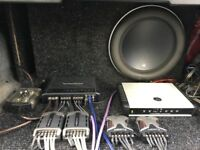 JL Audio 13w7 in Custom Box