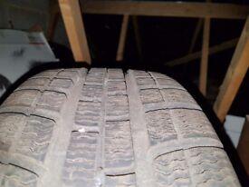 2×WinterMaxx Profile tyres 205/50/R17 89H