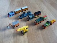 Thomas and Friends Take and Play metal trains bundle
