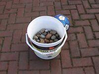 pebbles Rocks for fish tank aquarium kor