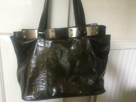 Reiss ladies leather bag