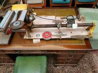 Table saw with lathe