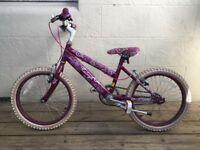Raleigh Krush 18 inch kids bike