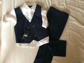 New M&S formal waistcoat outfit
