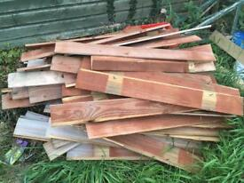 Closeboard fencing panels approx 95cm long