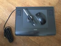 WACOM Intuos 3 Graphics tablet PTZ-630 With Pen, Mouse