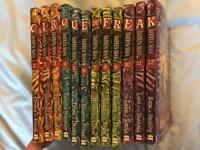 The Saga of Darren Shan Pack, Set of 12 books. Ex Condition