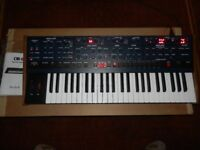 Oberheim OB-6 Polyphonic Analog Synthesizer, mint in Original Box.