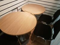 Two desks up for grabs