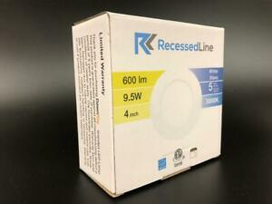 RecessedLine 4 LED flat panel light 9.5W (Pack of 40)